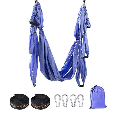 Check Out This CIUJOY Yoga Swing, Yoga Hammock Swing of Yoga Accessories for Antigravity Exercise wi...