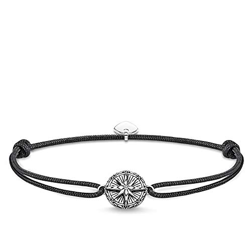 THOMAS SABO Unisex Armband Little Secret Vintage Kompass 925er Sterlingsilber, Geschwärzt LS088-907-11