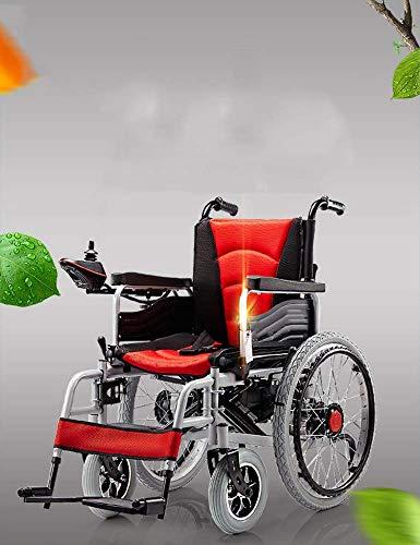Y-L Ancianos Discapacitados Silla de Ruedas Eléctrica Plegable Luz Plegable Patinete Viejo...