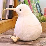 50CM鳥の柔らかいぬいぐるみシミュレーション鳥のぬいぐるみ動物のぬいぐるみ人形超かわいいおもちゃ 誕生日プレゼントのための家の装飾 白い 30cm
