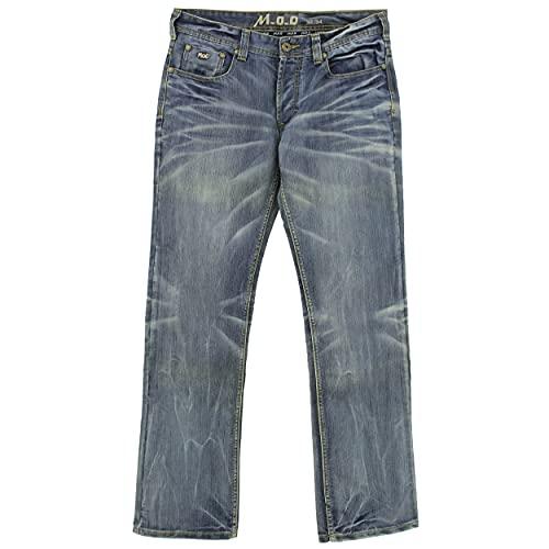 M.O.D Miracle of Denim, Thomas, Herren Jeans Hose Denim Ohne Stretch Ocean Blue W 33 L 34