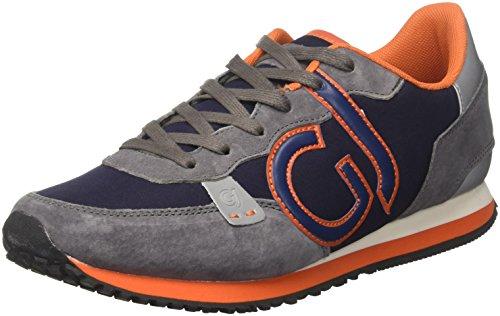 Gaudì Cesar, Sneaker Uomo, Multicolore (Greynavy), 44 EU