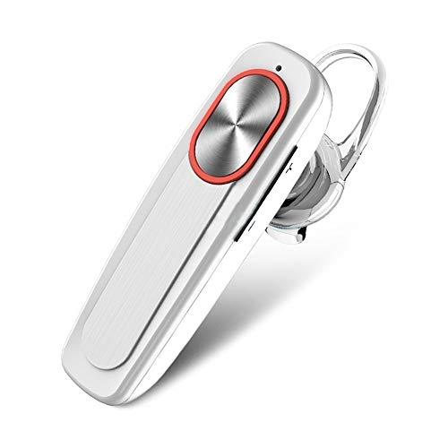 ZIXING Auriculares inalámbricos Bluetooth 4.1 de negocios, auriculares estéreo con cancelación de ruido superbajo, auriculares impermeables para juegos/deportes/oficina/conducción
