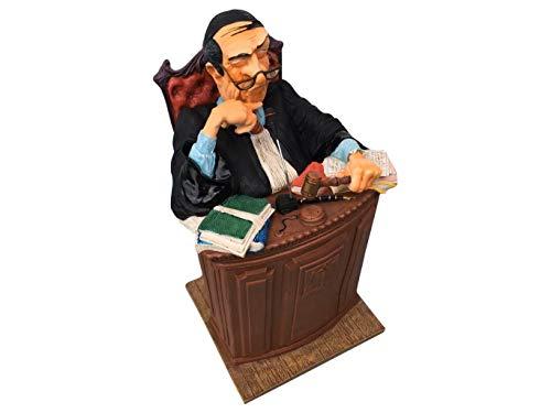 Guillermo Forchino fo85529 Vignette Le Juge, Résine, Multicolore, 30 x 13 x 36 CM