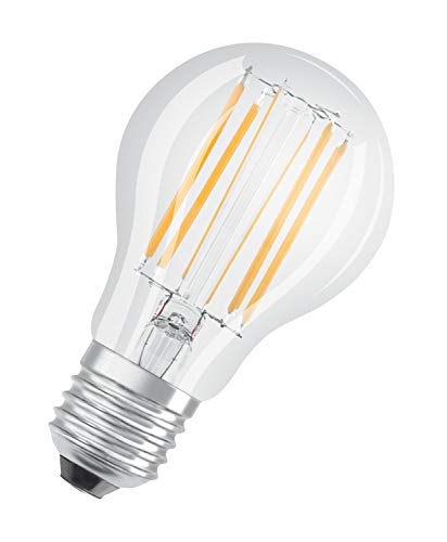 OSRAM Lamps LED-Lampen, klassische Kolbenform, dimmbar, 8.5 W, warmweiß, One Size