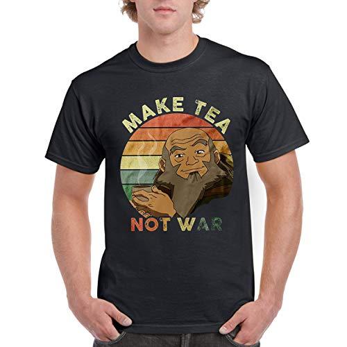 Uncle Iroh Make Tea Not War Airbender Vintage Quote Custom T-Shirt for Men Women