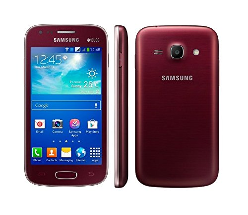 Samsung Galaxy Ace 3 LTE GT-S7275R Wine Red Android Smartphone 5 MP Fotocamera 8 GB memoria S7275R Rosso Senza Simlock