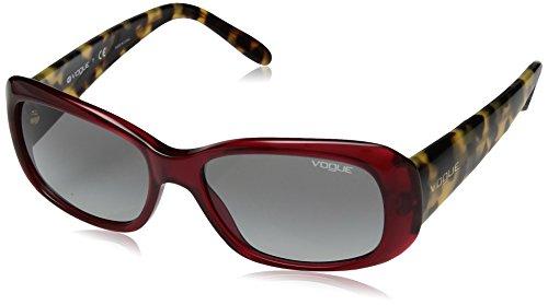Vogue 0VO2606S Gafas de sol, Transparente Red, 52 para Mujer