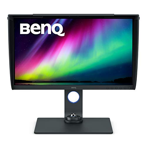 BenQ SW270C, 27 Inch 4K IPS Photo Editing Monitor