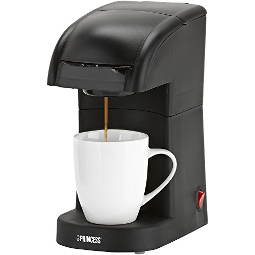 Princess 01.242292.01.001 1-Tassen-Kaffeepadmaschine für alles Softpads