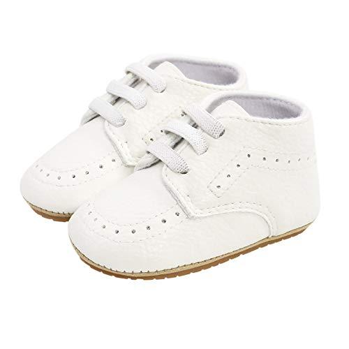 Primeros Zapatos para niño Unisexo pequeños Mocasines para bebé Niños niñas Suela Blanda Zapatos de Bebe Infantil Primavera y Verano Fondo Suave Antideslizante Transpirable