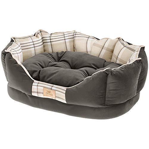 Ferplast Dog Lit Charles 70 Cushion Brown, Noir, Medium