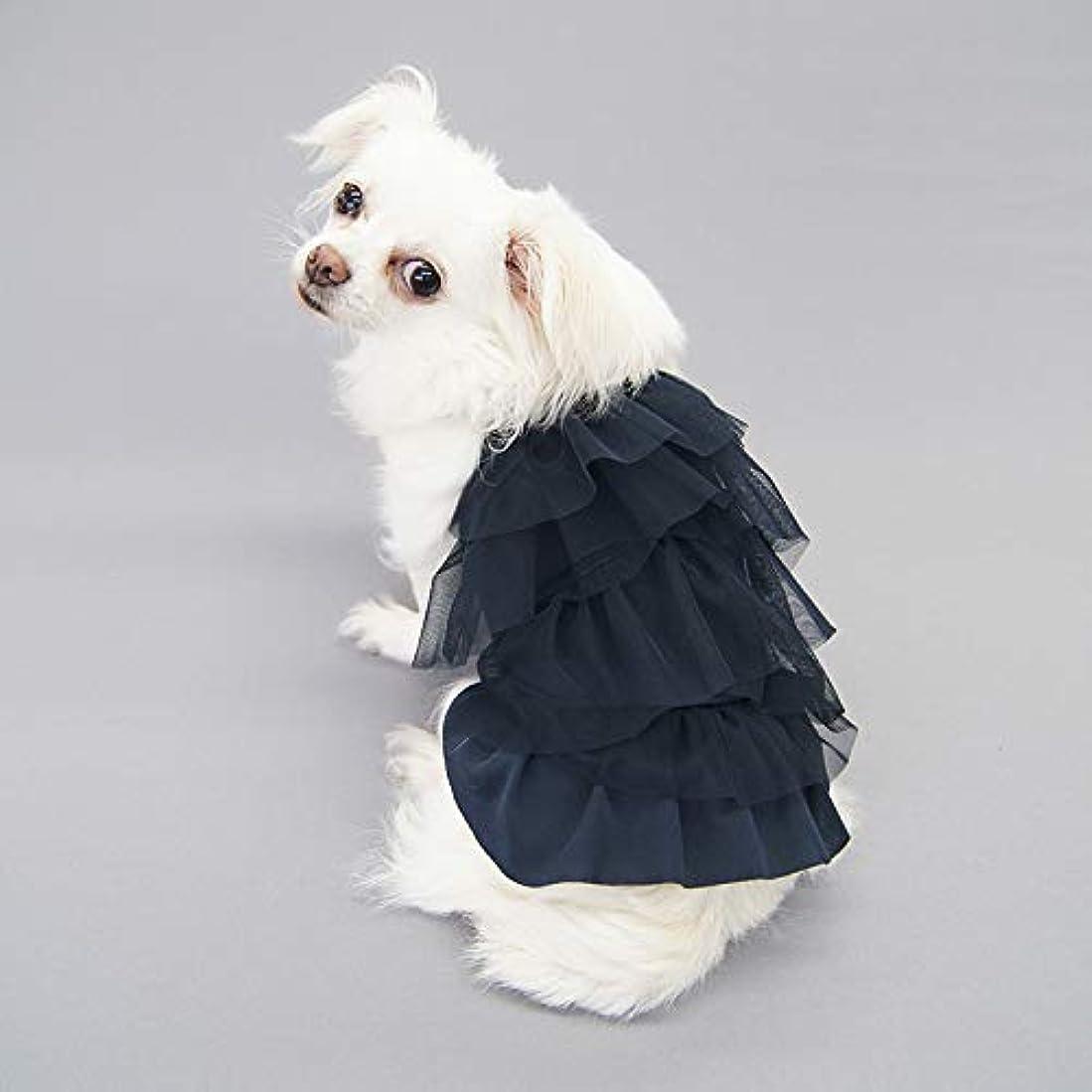 花瓶ポンド球状スカラップドレス型紙 eco印刷 小型犬SS+~M