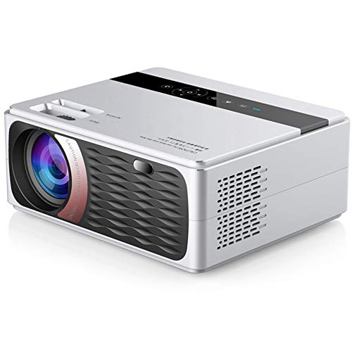 """Mini Projector,Video Projector Outdoor Movie Projector, Full HD 1080P 180"""" Supported, 8000L LED Portable Home Theater Projector, Compatible with PS4, PC via HDMI, VGA, TF, AV and USB"""