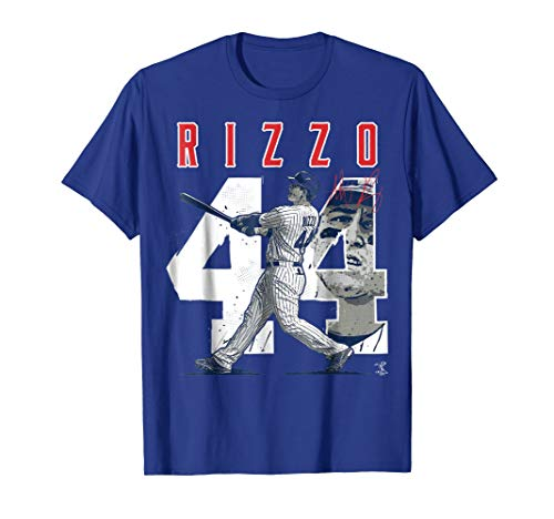 Anthony Rizzo Number & Portrait T-Shirt - Apparel