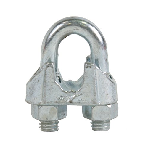 Koch Industries 070371 Malleable Wire Rope Clip, 1/2-Inch, Malleable Iron