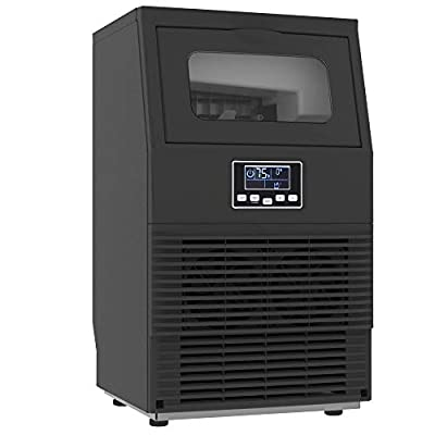 PROICER Ice Mahcine 70LBS/24H Stainless Steel Commercial Ice Maker