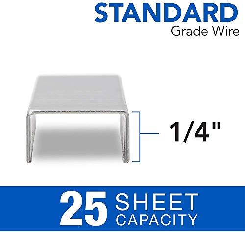 """Swingline Stapler Bundle of 2: Desk Stapler, 20 Sheet Capacity (Black) & 2 Packs of Standard Staples (1/4"""" Length, 210/Strip, 5000/Box)   Stapler Remover Photo #4"""