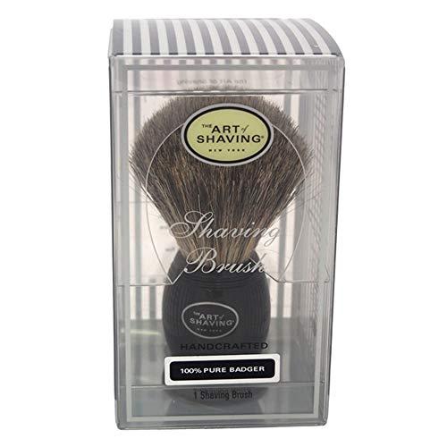 The Art Of Shaving Pure Badger Shaving Brush - Rasierpinsel schwarz mit reinem Dachshaar