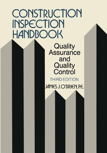 Construction Inspection Handbook: Quality Assurance/Quality Control