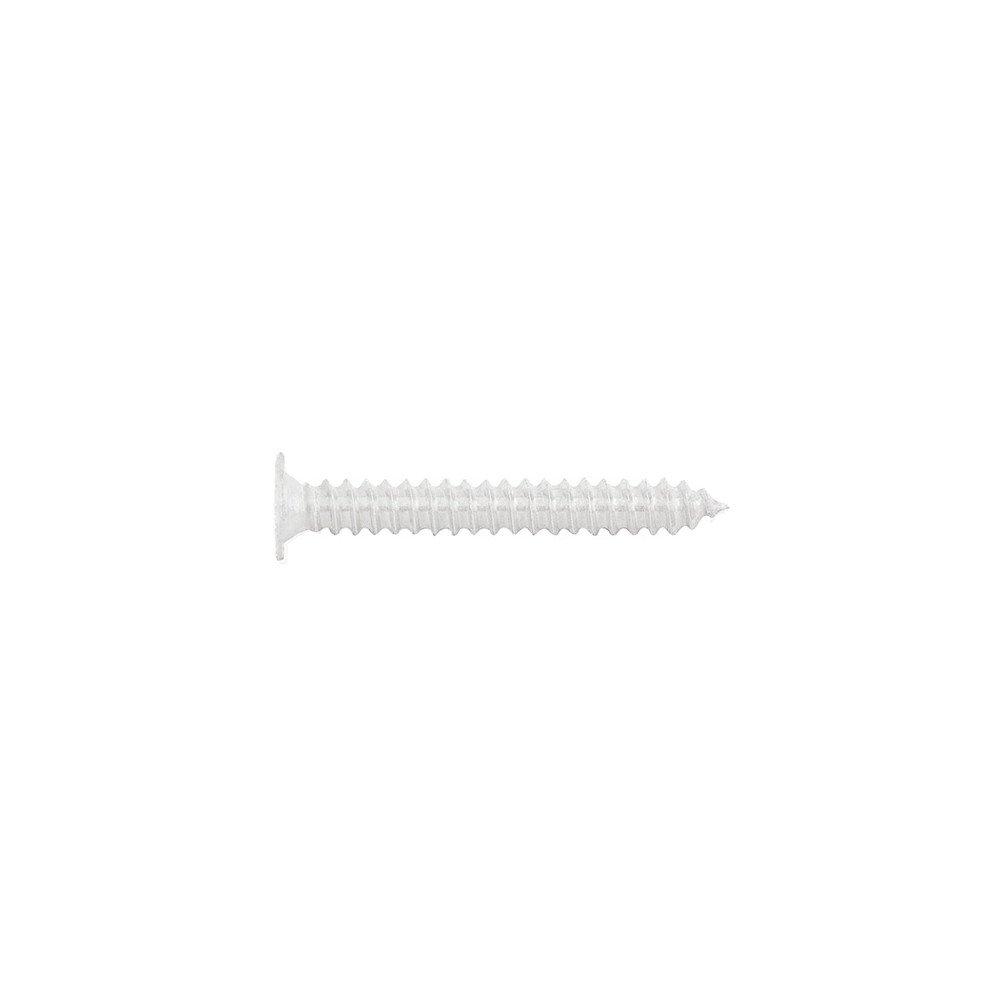 4,2 x 23 INDEX Fixing Systems BCPB4223 Tornillo autotaladrante de cabeza extraplana y huella Phillips Set de 500 Piezas 4,2 x 23 mm BCP B Blanco