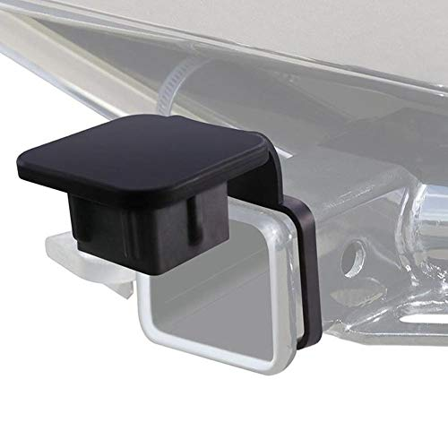 Sunronal Hitch Tube Cover Plug Cap Insert 2 Zoll Gummi Hitch Tube Cover Für Dodge Ram Porsche Benz Toyota Ford Jeep Chevrolet Nissan ATV UTV Polaris