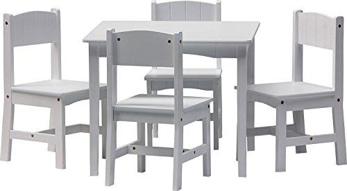 IB-Style - Meubles Enfants Enzo| 5 piéces |Set: 1 Table et 4 chaises Enfant - Chambre Enfant Meuble Enfant Mobilier Chaise d'enfant Baby
