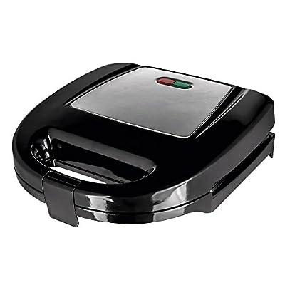 Status PHOENIXST1PKB4 Phoenix Non-Stick 2-Slice Sandwich Toaster, 750 W, Stainless Steel/Black