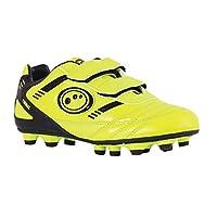Optimum Tribal Moulded Stud, Boys Football Boots, Yellow/Black, 10 UK (28 EU) from Optimum
