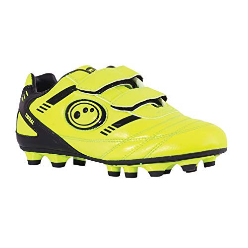 Optimum Tribal Moulded Stud Scarpe da calcio Bambino, Giallo (Yellow/Black), 33 EU (1 UK)