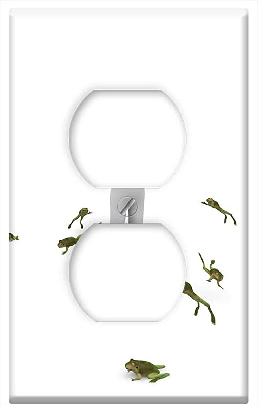 Switch Plate Outlet Cover Frog Child Play Green Childhood Nature Kermit