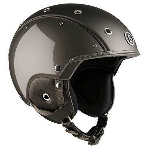 Bogner Ski-Helm | Pure Ruthenium | Ski & Snowboard | Hochwertige Qualität (Größe: S - Kopfumfang 52-56cm)