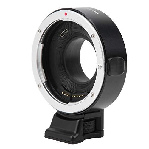 オートフォーカスレンズマウントアダプター、アルミニウム合金EF‑FX1レンズマウントアダプターリング、キャノン用取り外し可能ブラケット付きカメラレンズコンバーター:EF/EF‑Sマウントレンズ、富士フイルム用:Xマウントカメラ