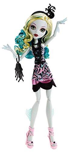 Mattel - BDF24 - Poupée Mannequin - Monster High Tapis Noir - Lagoona Blue À La Soirée
