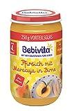 Bebivita Pfirsich mit Maracuja in Birne, 6er Pack (6 x 250 g) -