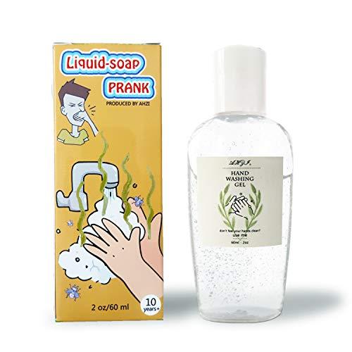 Hand Sanitizer Gel Prank Look Like iquid-soap Halloween April Fools' Day Prank Novelty...