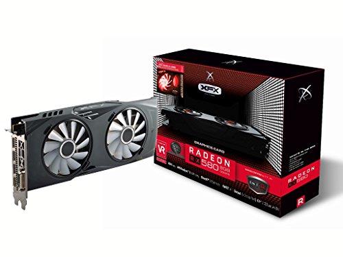 XFX XFX RX-580P8DBRR - Grafikkarte Radeon RX 580 GTS XXX 1405MHz 8GB PCI Express, Schwarz