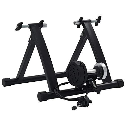 Dioche Entrenador de ruedas para bicicleta de interior, plegable, adecuado para bicicleta de carretera y MTB, con freno magnético para ajustar la resistencia de 7 niveles.