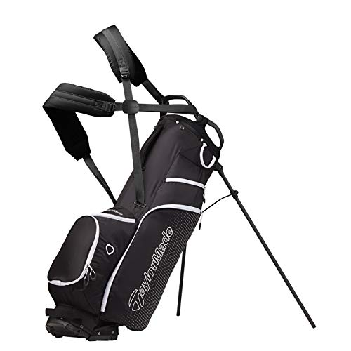 TaylorMade LiteTech 3.0 Sac avec Support Homme, Noir, Taille...