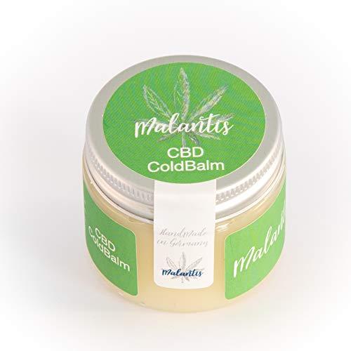 Malantis ColdBalm | kühlendes Gel mit Arnika Rosmarin Kampfer | Pferdesalbe Sportgel Pferdebalsam (50ml)