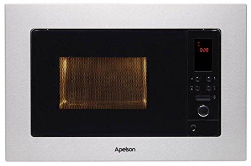Apelson | Microondas Encastrable | Modelo AM 20 LN | Cinco niveles de potencia, 800 W | Ancho de 60 cm | Temporizador de 0 a 95 minutos