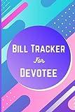 Bill Tracker For Devotee: Monthly Bill Payment Tracker book For Iskcon Devotee,Super Glossy Bill Tracker Journal For Krishna Devotee