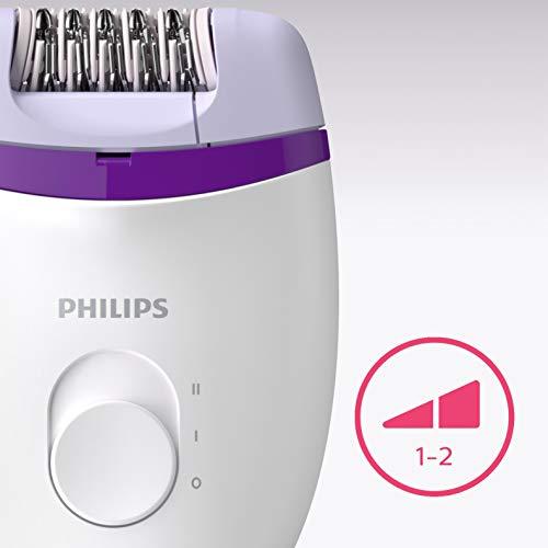 Philips BRE225/00, Epilateur Satinelle Essential, 21 Pinces, 2 Vitesses