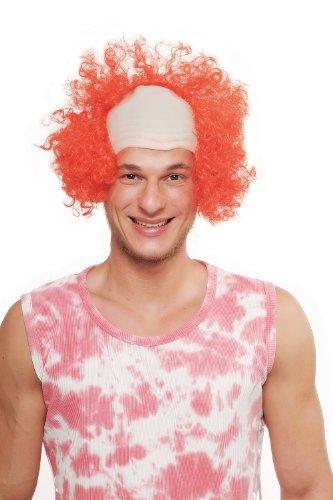 WIG ME UP ® - Parrucca da Carnevale Halloween Clown Clown da circo 3920-PC13