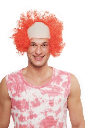 WIG ME UP ® - 3920-PC13 Fasching Karneval Halloween Perücke Clown Es Zirkusclown