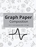 Graph Paper Composition: Grid Notebook for Math and Science Students (8.5 x 11 Inch Notebook With 110 Pages)