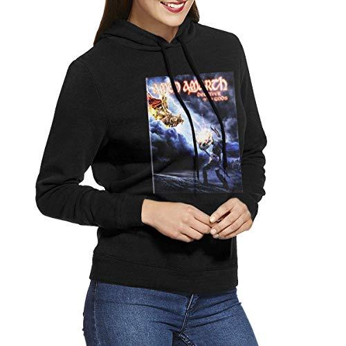 Jingliwang Amon Amarth Damen Pullover Hoodie Kordelzug Casual Sweatshirt, Damen Herbst/Winter Jacke