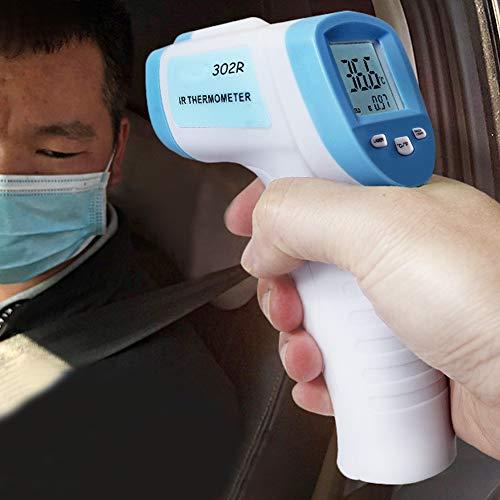 Digital Thermometer Ber/ührungslose Body Ohr und Stirn Pr/äzision Infrarot IR Thermometer mit LCD Display Hintergrundbeleuchtung