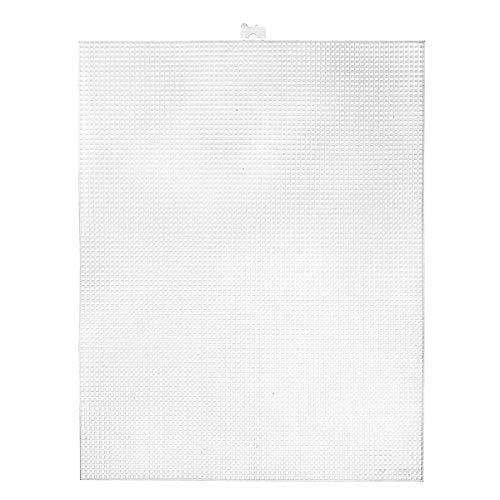 Darice 33407 Plastic Canvas Valore Pacco, Clear, 35.56 x 26.67 x 0.3 cm, 12 unità