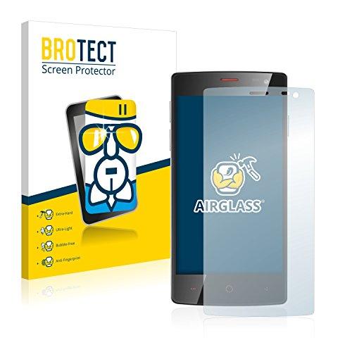 BROTECT Panzerglas Schutzfolie kompatibel mit Ulefone Be X - AirGlass, extrem Kratzfest, Anti-Fingerprint, Ultra-transparent